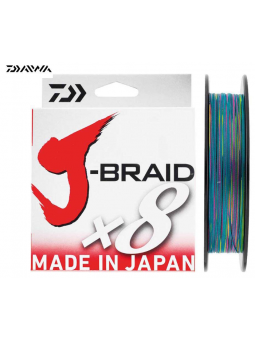 J-Braid X8 300 Mt Multicolor