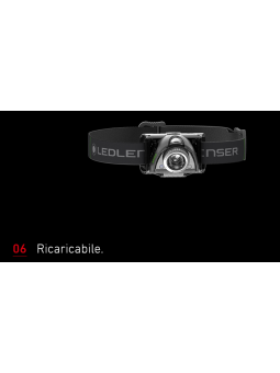 LED LENSER MH6 RICARICABILE