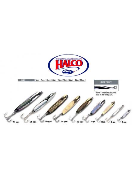 HALCO TWIST CROME